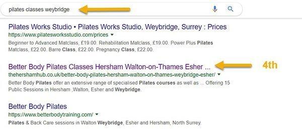 pilates weybridge 600 - Work With Molesey Life